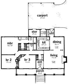 Small Farmhouse Floor Plans | plan images floor plans home plan 139 1026 floor plan