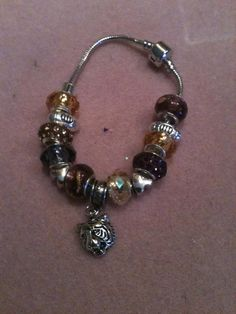 LSU Pandora like bracelet $35