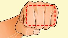 Si no adelgazas por más que lo intentes, el secreto está en tus manos, ayúdate… ¡con el puño! Parece increíble, ¡pero funciona! Inténtalo y veras.