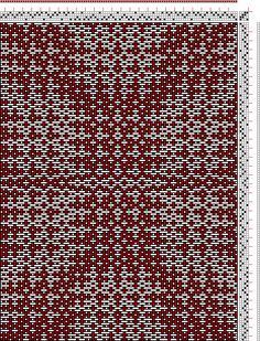 Hand Weaving Draft: cw210190, Crackle Design Project, Ralph Griswold, 4S, 4T - Handweaving.net Hand Weaving and Draft Archive