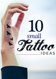 10 Adorable Small Tattoo Ideas is part of tattoos - Not looking for big and bold tattoo scaling down half your back or limbs Here are some small tattoo designs meant just for you then Meaningful Tattoos For Women, Wrist Tattoos For Women, Small Wrist Tattoos, Tattoos For Guys, Bird Tattoo Wrist, 16 Tattoo, Tatoo Henna, Tiny Tattoo, Tattoo Neck