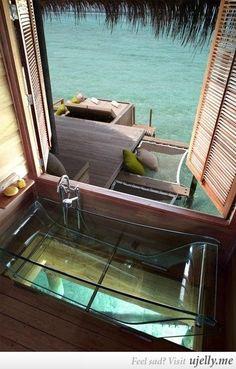 I want that bathtub.