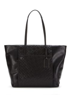 Leather Q-Tote from Tumi Luggage on Gilt