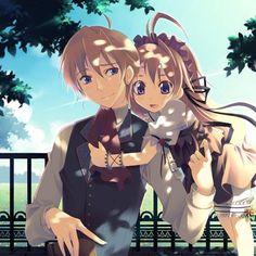 cute anime couple | cute, anime couple