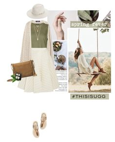 """Play With Prints In UGG: Contest Entry"" by anna-anica ❤ liked on Polyvore featuring UGG Australia, Violeta by Mango, 321, Giambattista Valli, Lancôme, Forever 21, rag & bone and thisisugg"