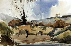 Artists in Wiltshire Watercolor Landscape Paintings, Watercolor Artists, Watercolor And Ink, Watercolour Painting, Landscape Art, Watercolours, Still Life Art, Artist Life, Devon