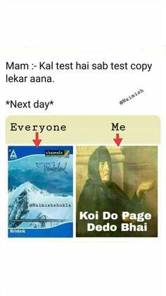 Maham-N 😂😂 hamari puri class k yh hi haal tha Funny School Jokes, Very Funny Jokes, Really Funny Memes, Crazy Funny Memes, Seriously Funny, Good Jokes, Stupid Memes, Funny Facts, Hilarious