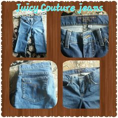 Juicy Couture jeans Juicy Couture skinny jeans. Size 26x29. In good condition. Juicy Couture Jeans