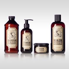 Edwin Grey, Co™ is a vintage apothecary men's personal care line featuring custom die-cut labels. The art employs victorian detailing, a male cameo, the Latin slogan, pulchrum est paucorum hominum (beauty is for the few), on an aged parchment background.