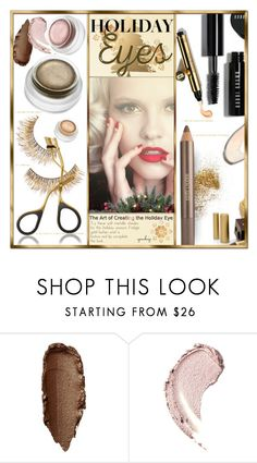"""""""Holiday Eyes!"""" by eyesondesign ❤ liked on Polyvore featuring beauty, Estée Lauder and Beauty"""