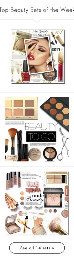 """""""Top Beauty Sets of the Week"""" by polyvore ❤ liked on Polyvore featuring beauty, OPI, Stila, KAROLINA, ULTA, Burberry, Jane Iredale, Beauty, NewYearsEve and holidaybeauty"""