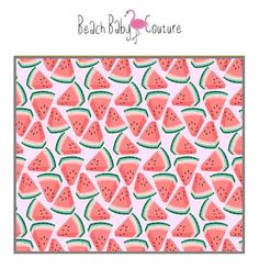 Watermelon Indie Nursery Bedding and Decor - Sheets, Changing Pad Cover, Boppy, Blankets