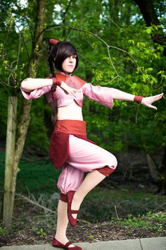 Nina Stockman: Ty Lee from Avatar: The Last Airbender in Otaku House Cosplay Idol 2012