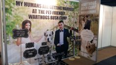 WARTHOGS PET-FRIENDLY BUSH CAMP – A SHOWSTOPPER AT THE WEDDING EXPO.