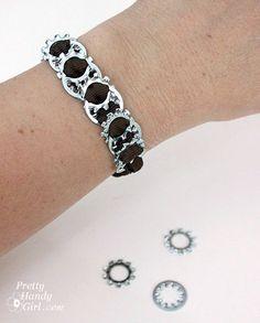 locking washer bracelet