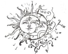 The sun come up, the moon rolls down, worlds apart but they don't make a sound. They know their love spins us 'round.