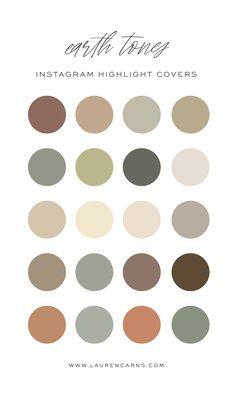 Earth Tone Colors, Earth Tones, Earth Color, Pantone Colour Palettes, Pantone Color, Best Hacks, Colored Highlights, Story Highlights, Neutral Colour Palette