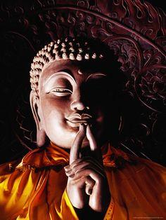 Buddha Statue in Beijing China Gautama Buddha, Buddha Buddhism, Spirituality Posters, Buddhist Wisdom, Little Buddha, Spiritual Images, Buddha Quote, Beijing China, Statue