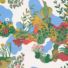 Textile Anakreon Cotton | Svenskt Tenn