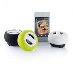 Krachtige bluetooth speaker met 600mAh herlaadbare batterij... - Speakers - Relatiegeschenken