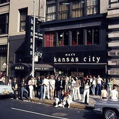 The changing face of NYC. Max's Kansas City (213 Park Ave. S) | Iconic NYC Music Venues, Then And Now