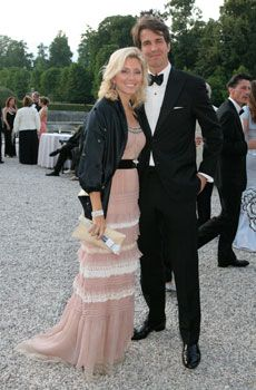 Crown Prince Pavlos and Crown Princess Marie Chantal of Greece - New York Social Diary -- 19 June 2009 -