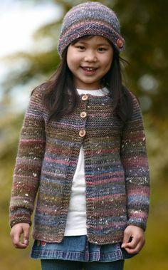 Lunt og fornuftigt tøj kan jo godt være rigtigt smart som i dette fine pigesæt med trøje og hue i super blødt garn Knitting For Kids, Free Knitting, Baby Knitting, Baby Barn, Cardigans, Sweaters, Great Pictures, Man, Knitting Patterns