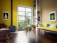 nice Déco Salon - Le jaune couleur de la convivialite image... Check more at https://listspirit.com/deco-salon-le-jaune-couleur-de-la-convivialite-image/