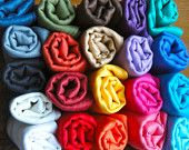 Pashminas, $5 if you are in NYC