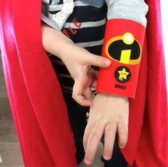 Let them make their own super hero cuffs!