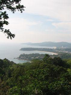 จุดชมวิวกะรน (Karon View Point) in เมืองภูเก็ต, ภูเก็ต Phuket, Places To See, The Good Place, Thailand, River, Activities, Amazing, Beach, Outdoor