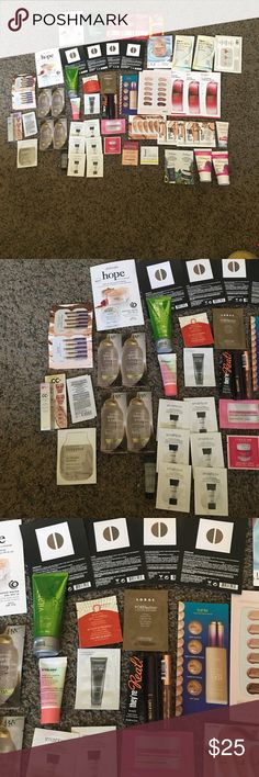 Lot of samples All brand new Smashbox Makeup