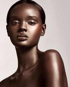Trendy ideas for skin beauty editorial black women Beautiful Dark Skinned Women, My Black Is Beautiful, Pretty Black Girls, Beautiful Eyes, Art Visage, Dark Skin Beauty, Black Beauty, Beauty Shoot, Foto Art