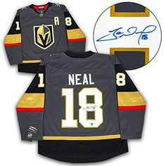 James Neal Autographed Jersey - Fanatics Replica - Autographed NHL Jerseys  Vegas Golden Knights da38b5659
