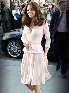Kate Middleton Wears Second Recycled Look of the Day for Event at National Portrait Gallery from InStyle.com