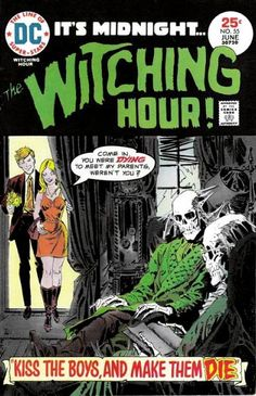 The Witching Hour #55  DC comics  June 1975  $.25