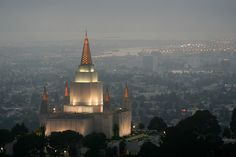 Mormon Temple, Oakland, CA   Made quite an impression on me first time I saw it.