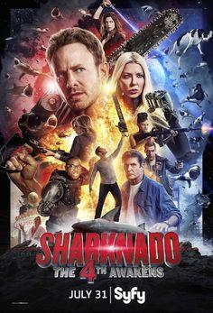 Sharknado 4--the cheezzze is real & so worth it. Ian & Tara..so terrible they turn good.