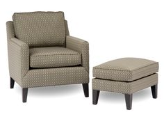 Accent Chairs and Ottomans SB Casual Upholstered Chair with Legs by Smith Brothers - Wolf Furniture - Upholstered Chair Pennsylvania, Maryland, Virginia