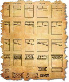 CAD Furniture Blocks | AutoCAD Furniture Symbols | CAD Blocks of Furniture
