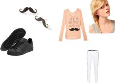 """School Day"" by minnow-star on Polyvore"