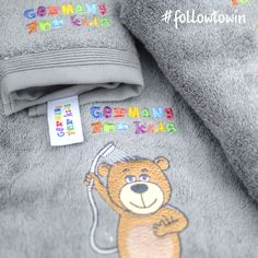 Competition. Win a complete set of luxurious Germany For Kids towels. All you have to do is follow us on Instagram. One winner will be announced on Instagram next Friday the 16th December.