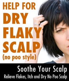 Help for Dry Flaky Scalp No Poo