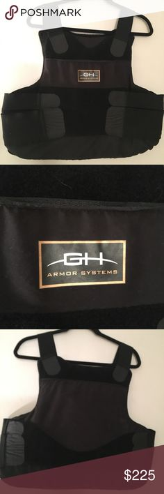 GH Armor Systems Level 3A Pro Bullet Proof Vest GH Armor Systems Level 3A Pro Ballistics Vest Bullet Proof Vest With trauma plate.  Black  XL-regular  Well kept, worn while part time towing. GH Armor Systems Other