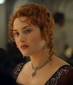 "Kate Winslet in ""Titanic"", as 'Rose DeWitt-Bukater'."
