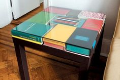 It's a book table!!!