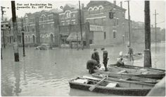 First and Breckinridge Streets Louisville, Ky., 1937 Flood