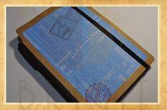 Estúdio Brigit - Encadernação Artesanal e Artística: Livro de Viagem UK (Travel Book UK)