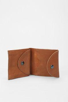Wood Square Wallet-SR