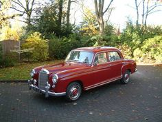 1958 Mercedes 220S Ponton Saloon on Car And Classic UK [C452480]